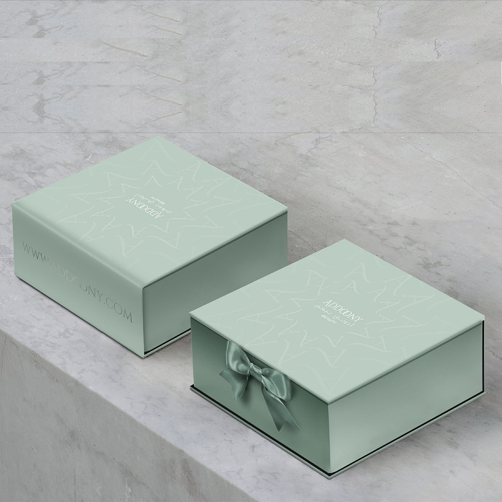 Addoony Gift Box Green (EMPTY)
