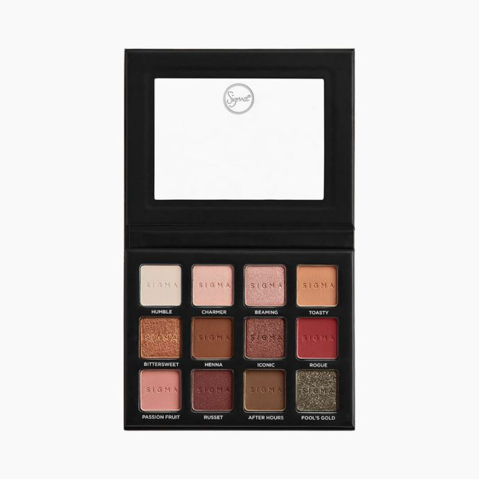 Sigma Eyeshadow Palette (Warm Neutrals) Volume 2