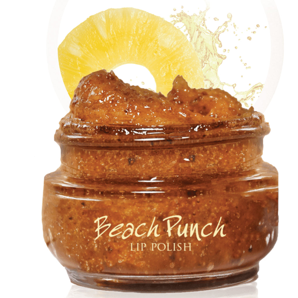 FHF Lip Polish (Beach Punch)  فارم هاوس فريش: مقشر الشفاه بالخوخ