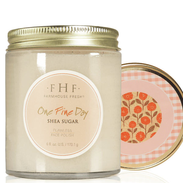 FHF Face Scrub (One Fine Day Flawless Polish)  فارم هاوس فريش: مقشر للوجه