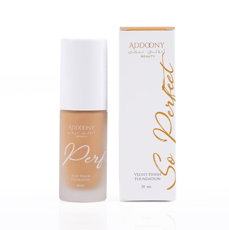 Addoony So Perfect Foundation (Hazel)  أدوني سو بيرفكت فاونديشن  - بندق