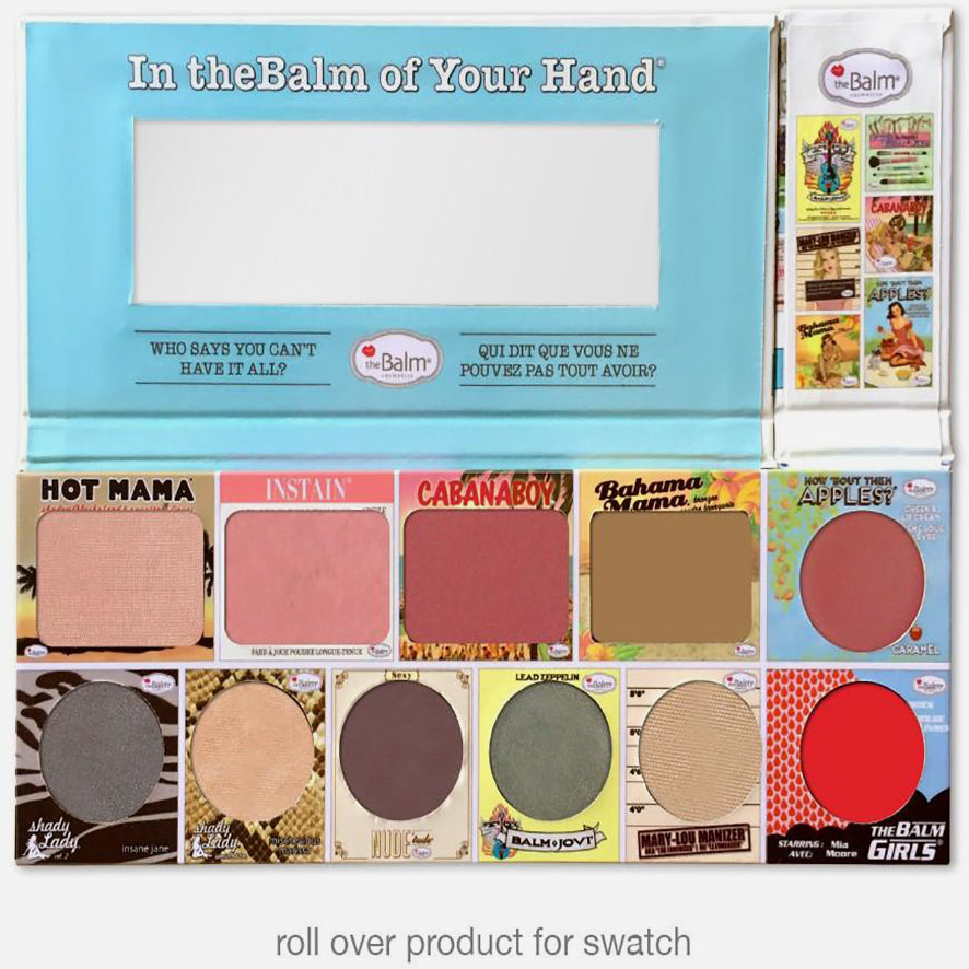 !TheBam In theBalm of Your Hand