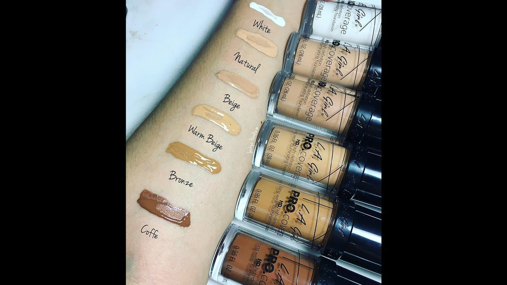 L.A. Girl Pro Coverage Illuminating Foundation (Warm Beige)