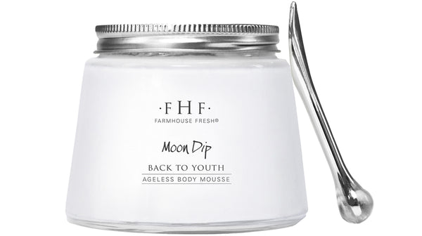 FHF Moon Dip Back To Youth Body Mousse  فارم هاوس فريش: مرطب الجسم - موس