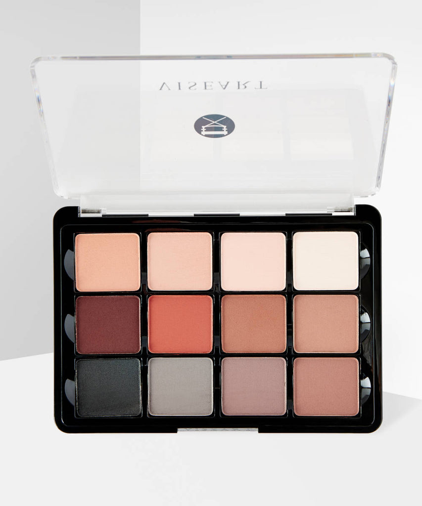 VISEART 01 Neutral Mattes Eyeshadow Palette