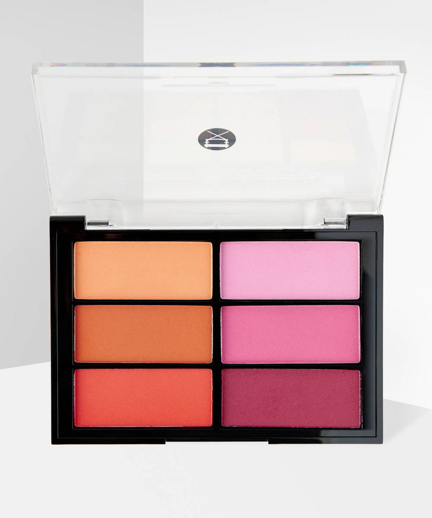 VISEART Orange Violet Blush Palette