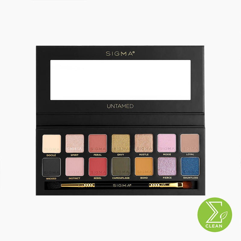 Sigma Untamed Eyeshadow Palette