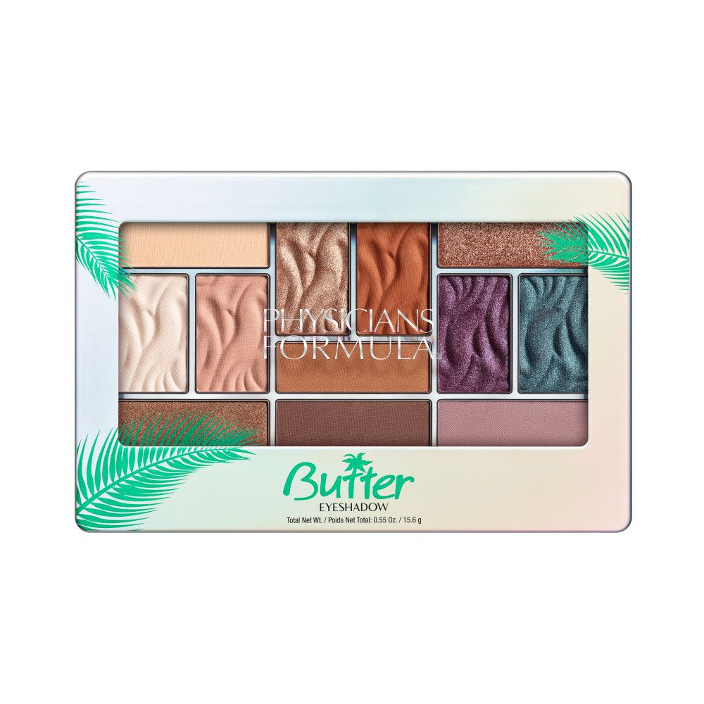 Physicians Formula Butter Eyeshadow Palette (Tropical Days) فيزيشان فورميلا: باليت ظلال بتر -تروبيكال دايز