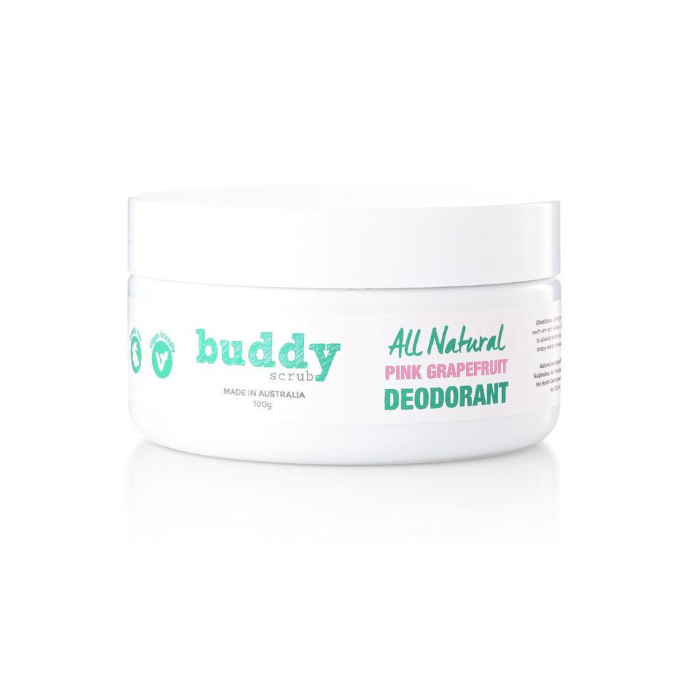 Buddy Pink Grapefruit Natural Deodorant