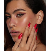 Rmoosh Official Nails (Sexy Red-ballerina shape) رموش أوفيشيال: أظافر -سي*سي ريد