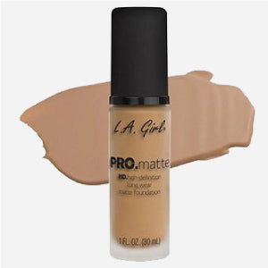 (Sandy Beige)-L.A. Girl PRO Matte Foundation