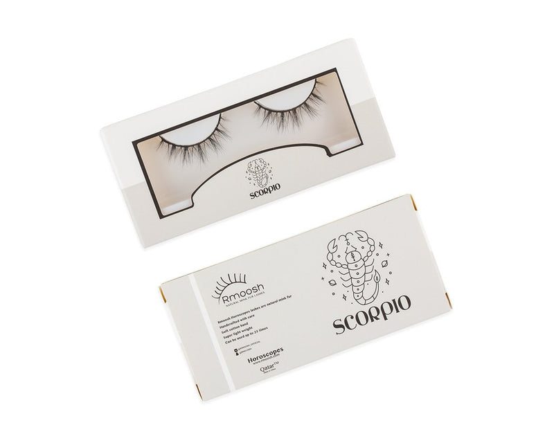 Rmoosh Official Mink Lashes (Scorpio) رموش أوفيشيال: رموش مينك -العقرب