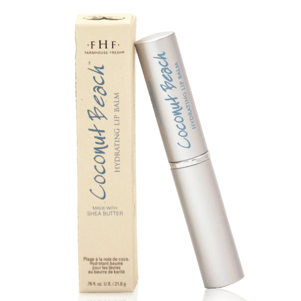 FHF Hydrating Lip Balm (Coconut Beach)  فارم هاوس فريش: مرطب الشفاه بجوز الهند