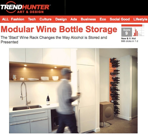 wine storage design trends - wine racks