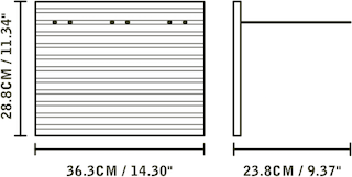 STACT Pro - shelf dimensions