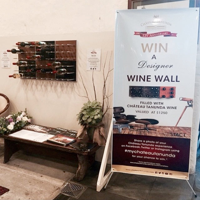 cellar door wine wall giveaway
