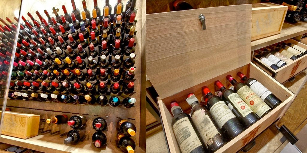 most expensive luxury wine cellars
