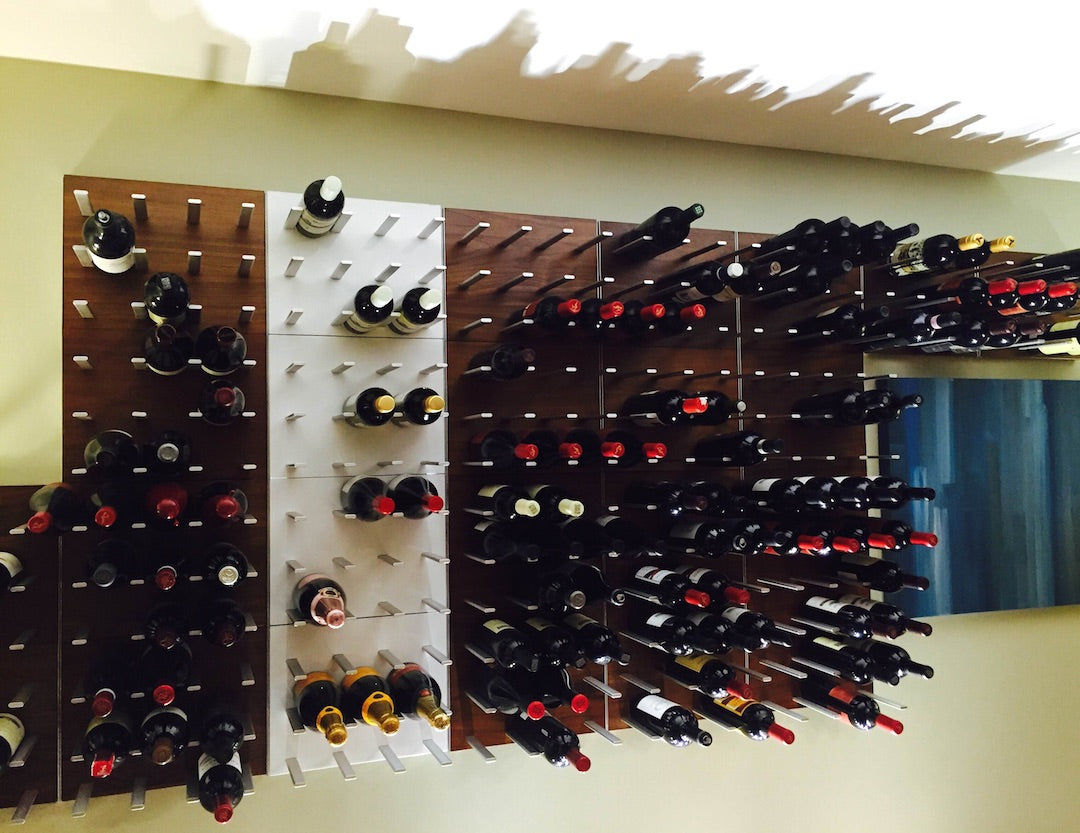 expandable wine rack wall