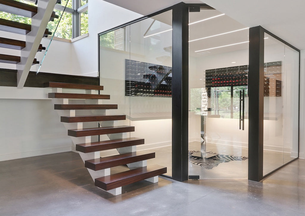 Glass Corner Wine Cellar