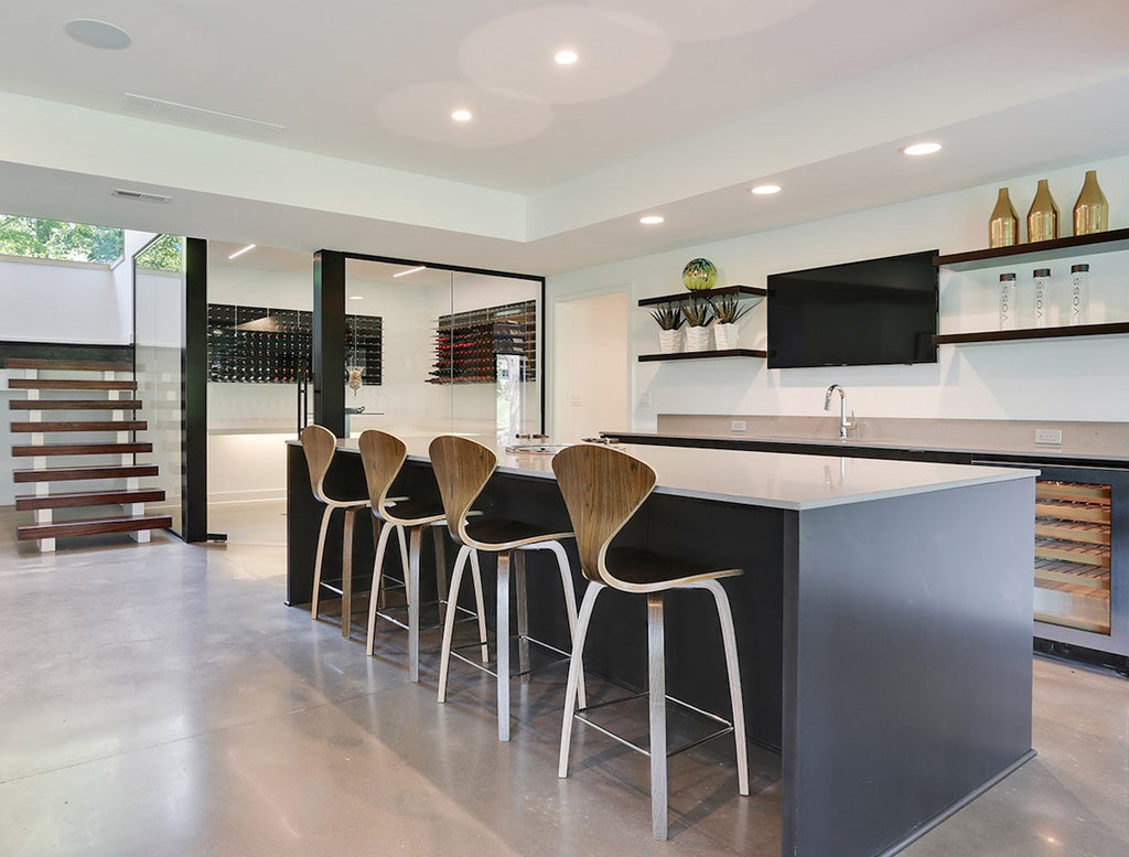modern home wine bar design