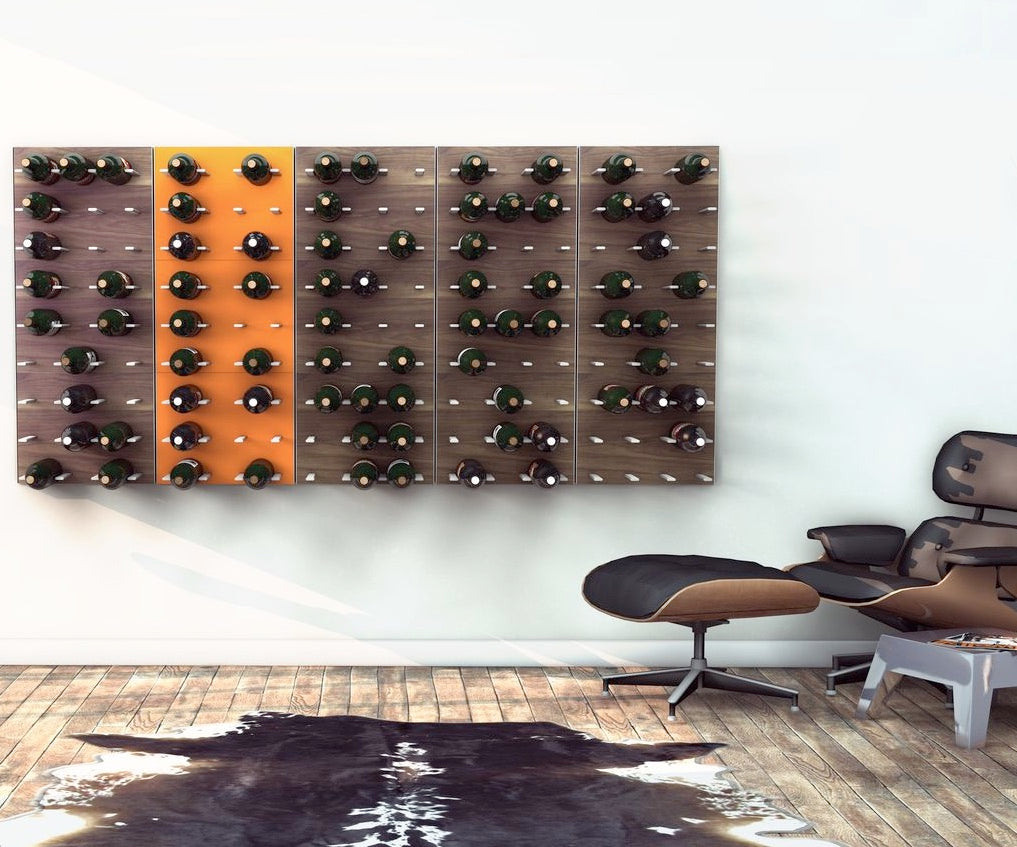expandable wall wine racks