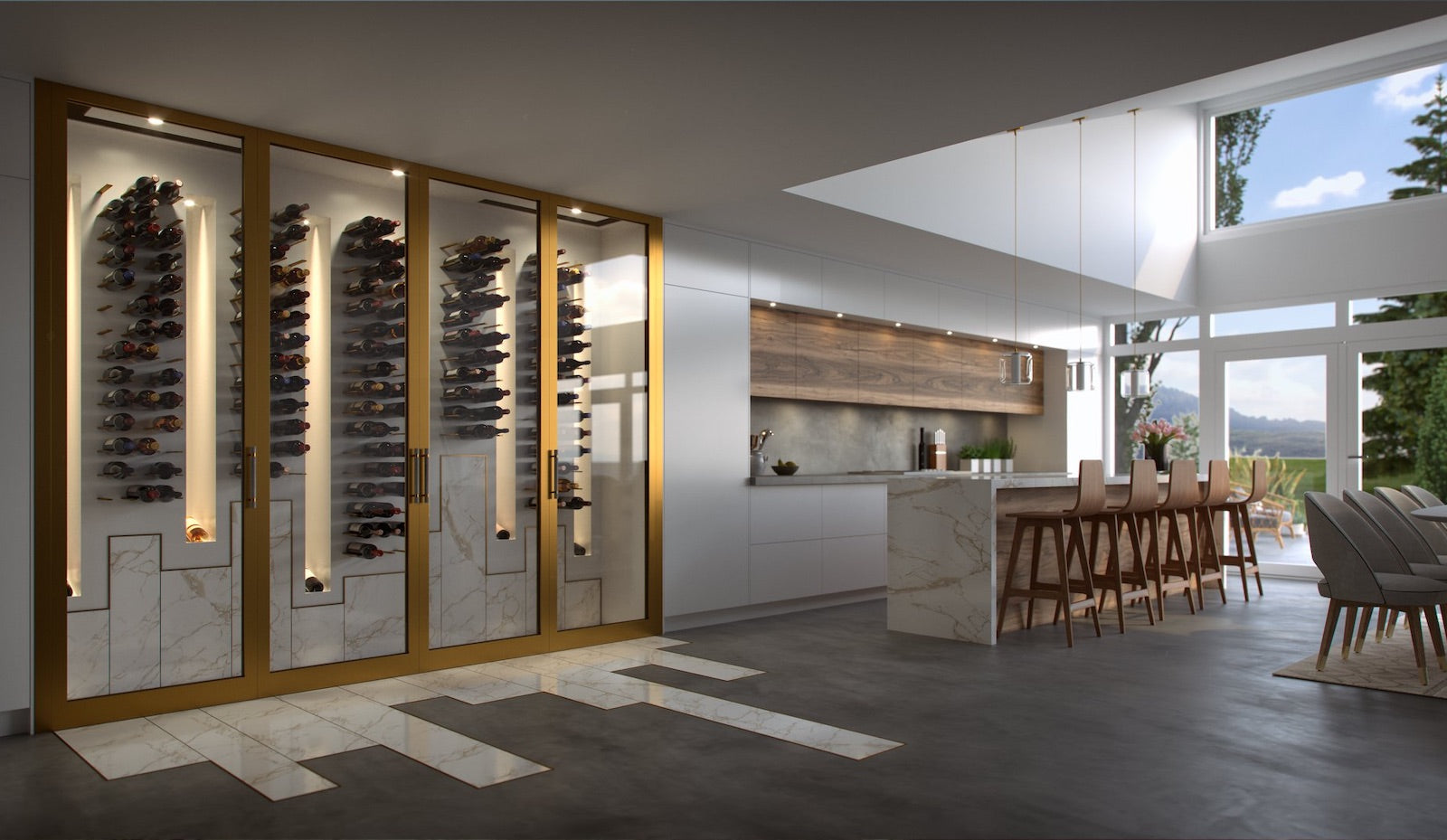 custom wine cellar designer