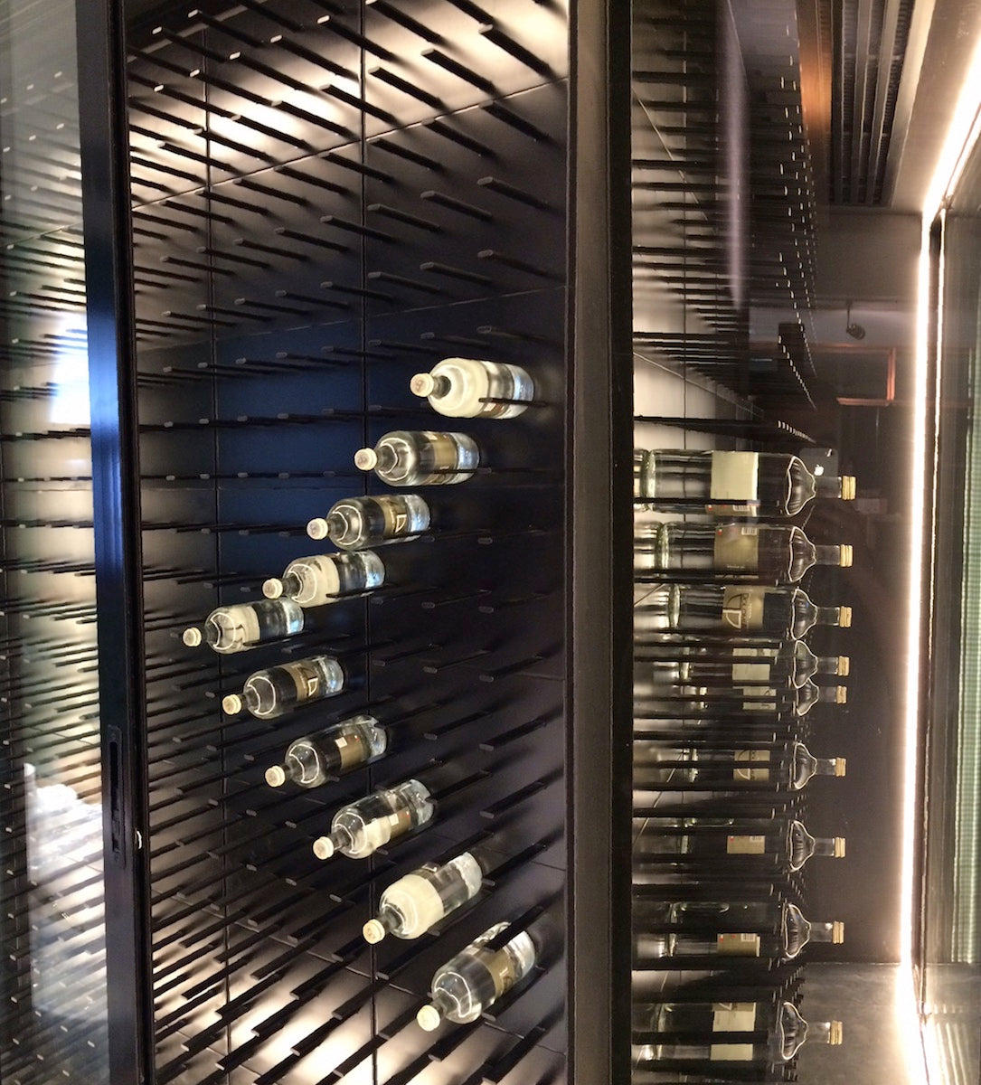 wine cellar at cocktail kitchen - dubai, UAE