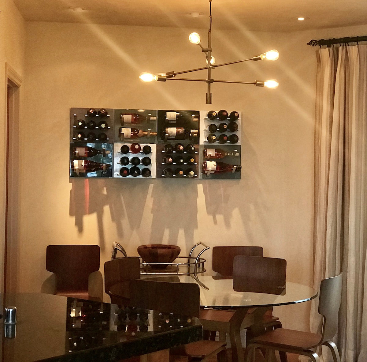 decorative wine storage
