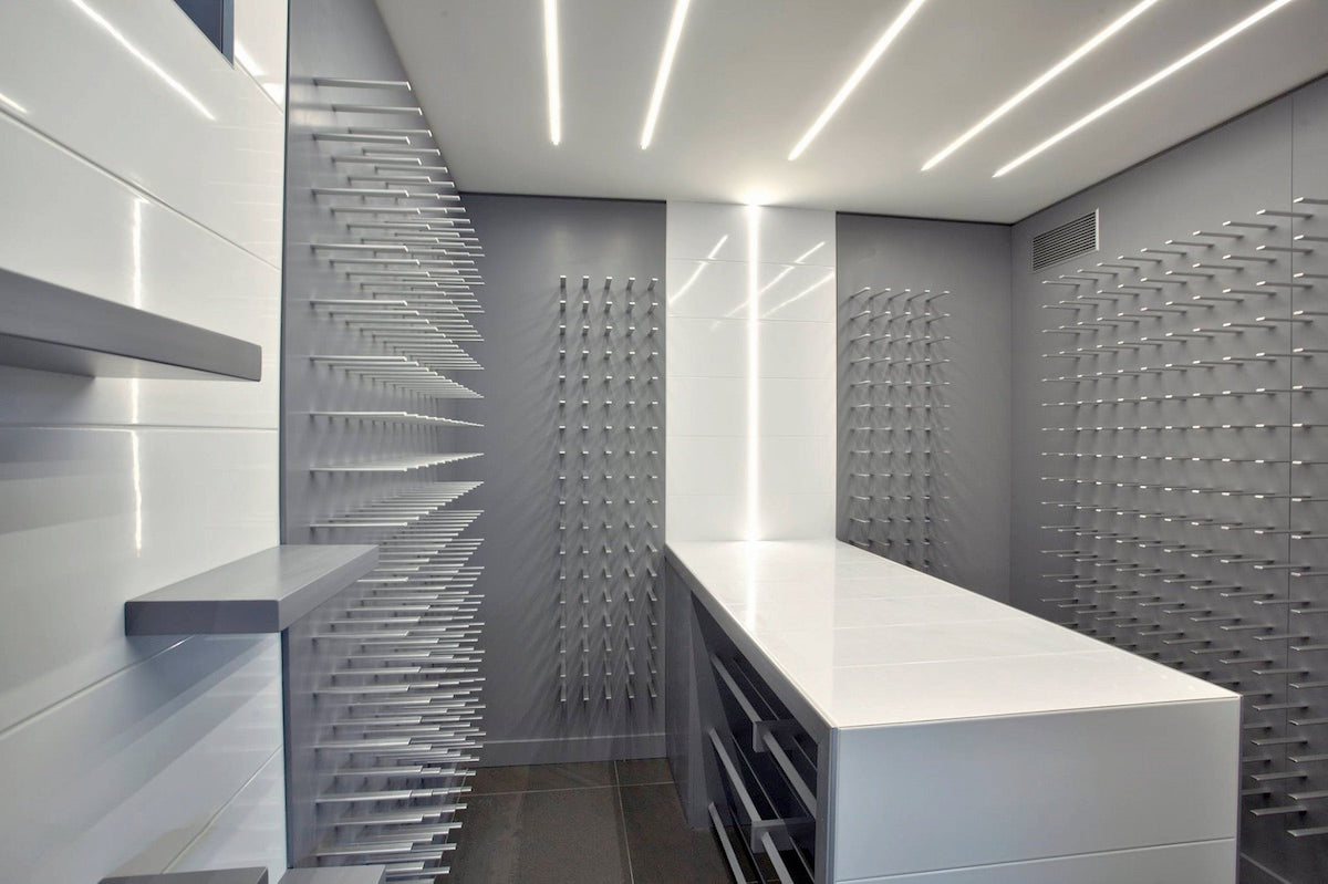 modern wine cellar design for luxury homes