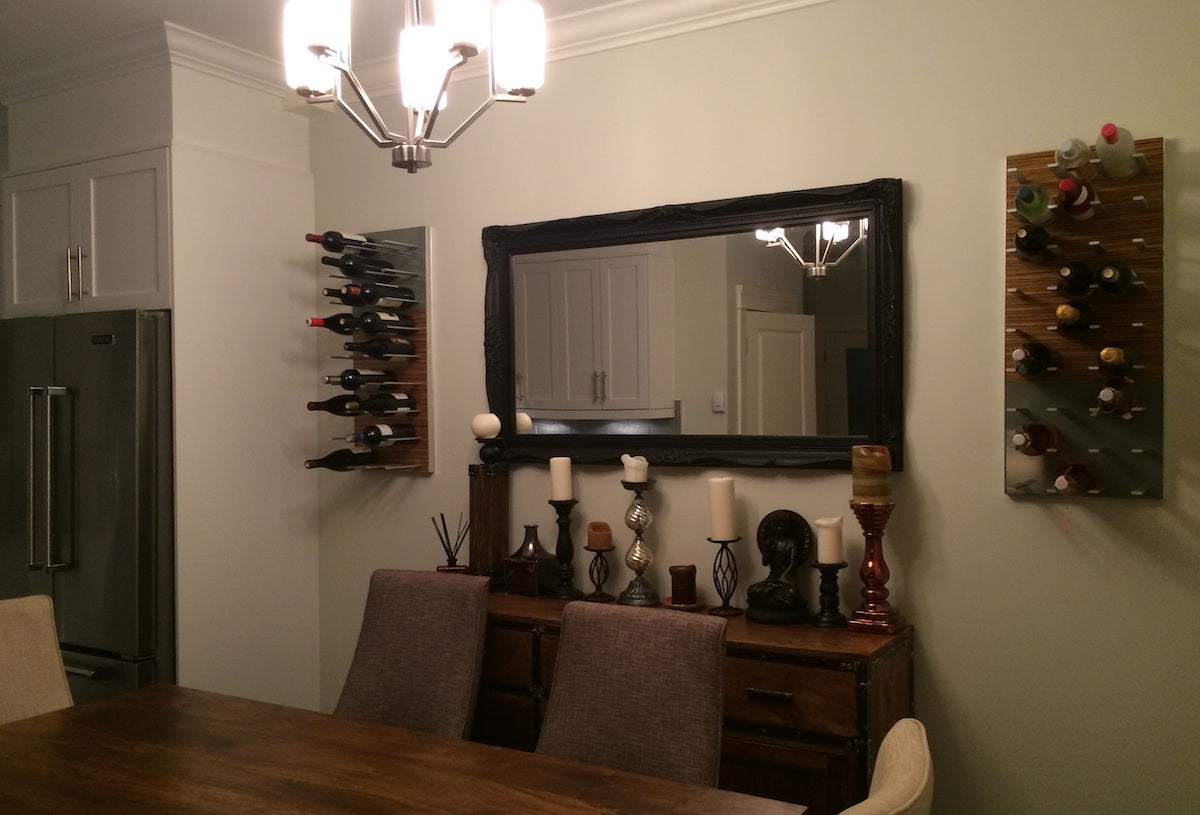 dining room wine storage racking