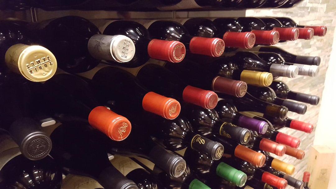 premium wine racks for luxury wine cellars