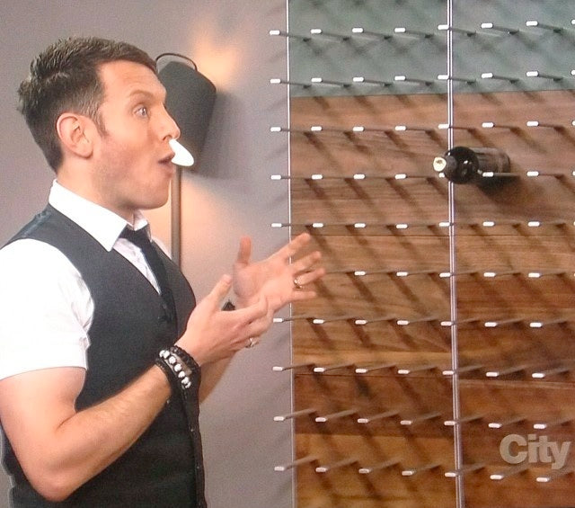 stact wine racks with shai deluca on cityline