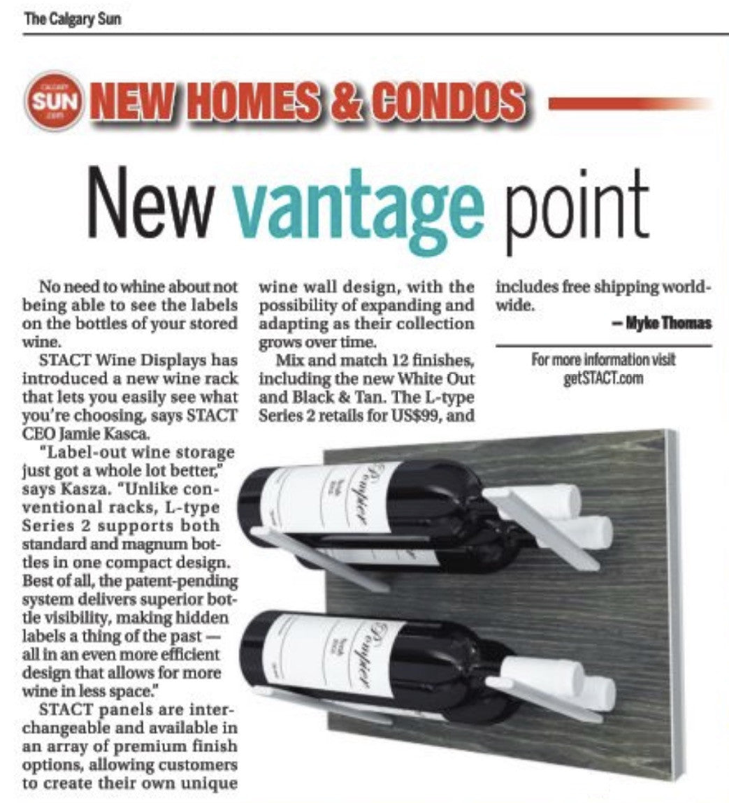 label-out wine storage - calgary sun