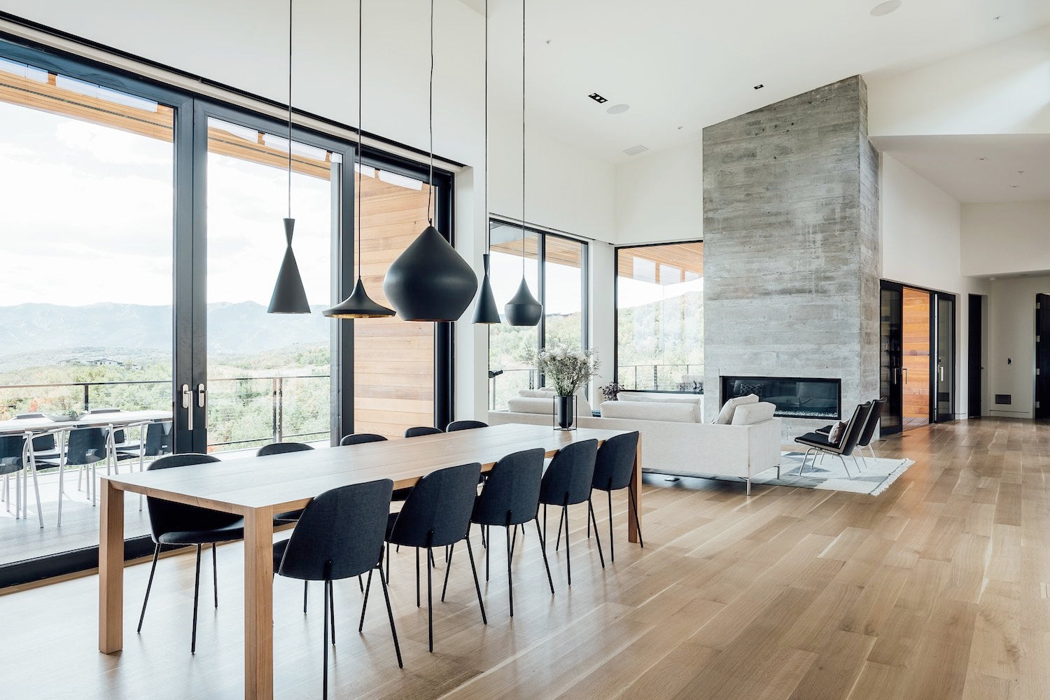 scandinavian contemporary dining room - dwell