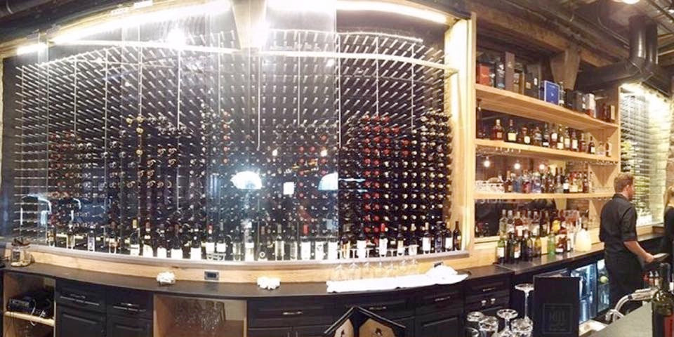 wall to wall wine cellar