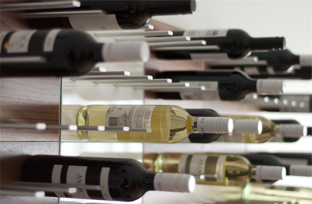 hands on review of STACT wine racks by cheatsheet.com