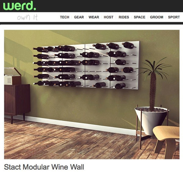 Man Cave Decor Za : Wine rack for the man cave stact racks