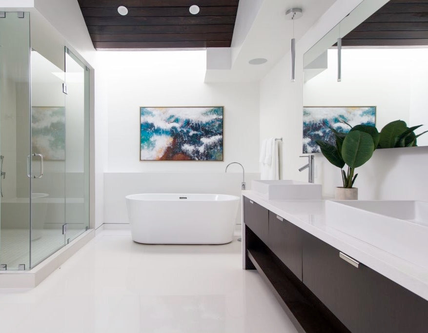 custom luxury bathroom