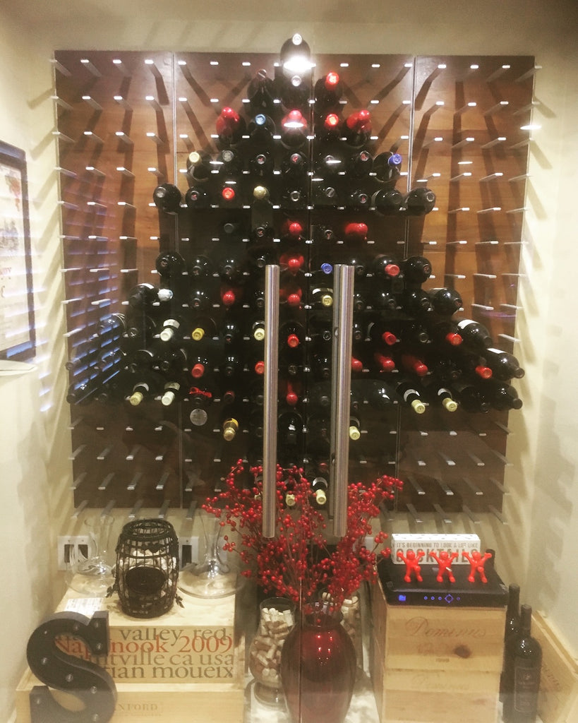 christmas wine cellar