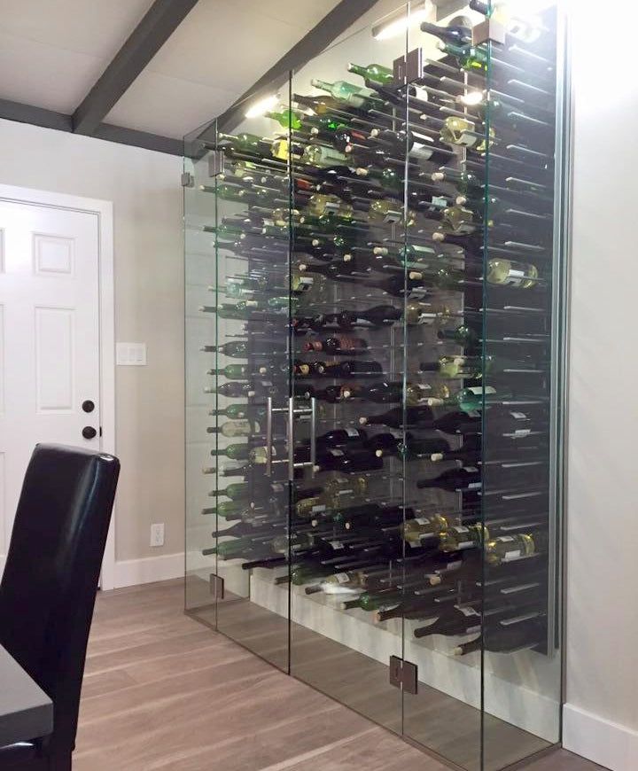 kitchen wine cellar on HGTV's america's most desperate kitchens