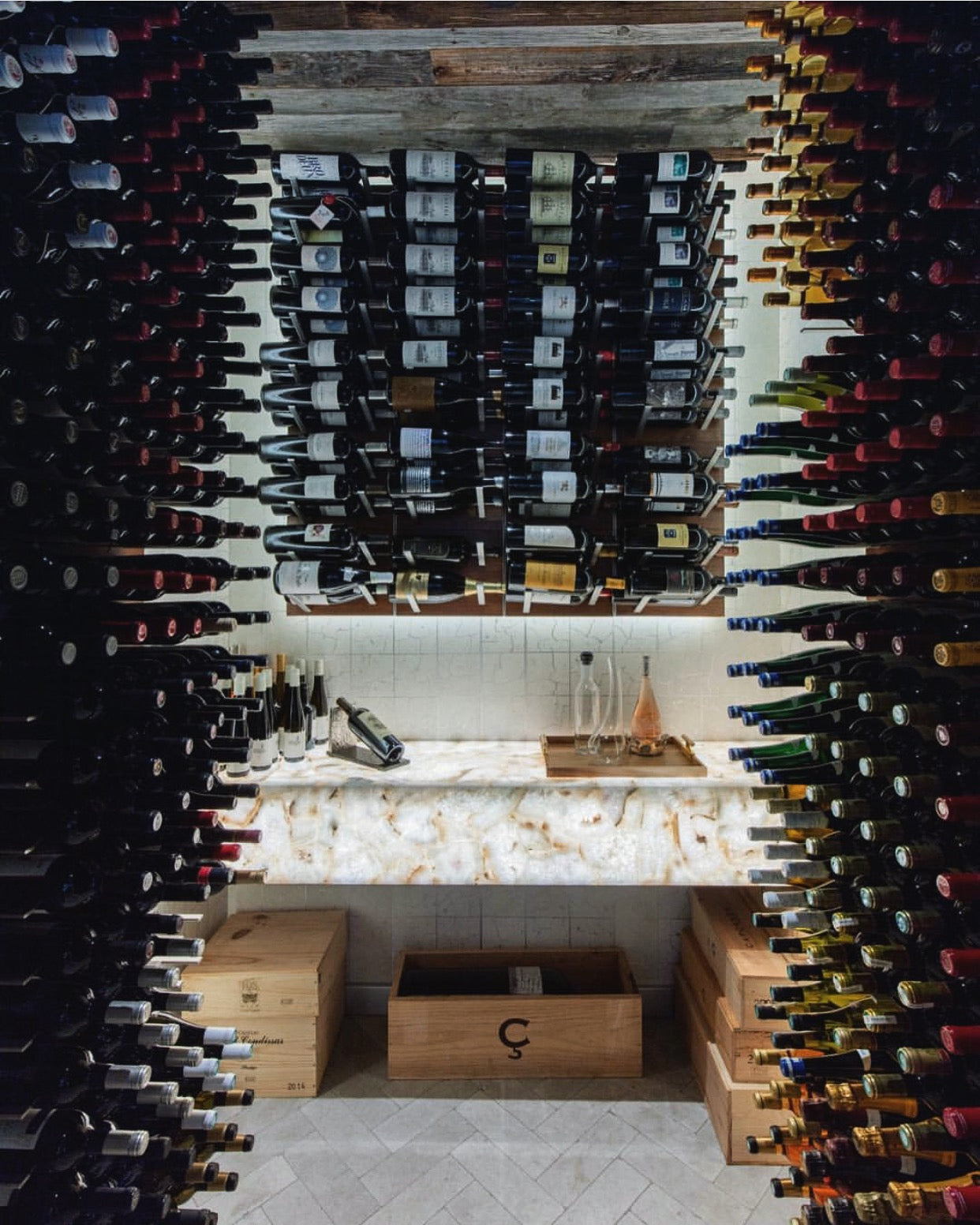 best luxury wine cellar design