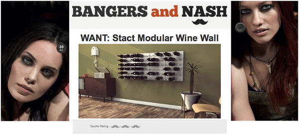 wine racks mustaches