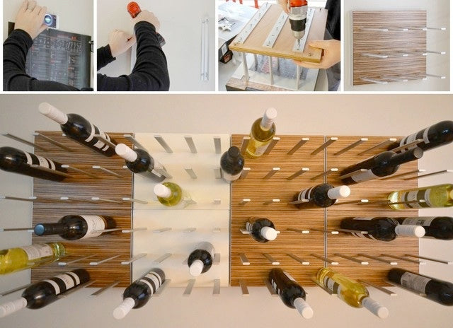 wine rack assembly and installation my design milk's jaime derringer