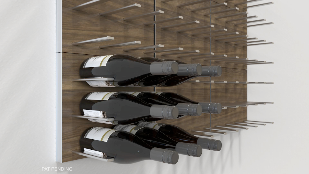 modular wine wall racks