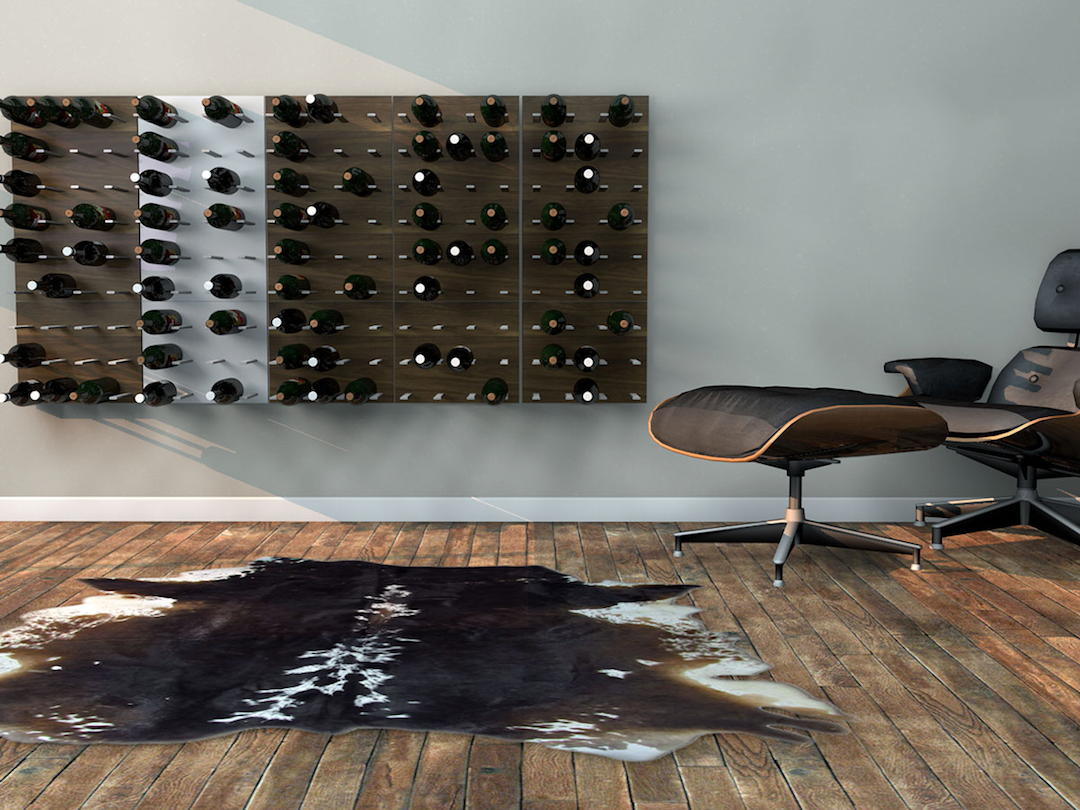 wine racks designed for modern interior decor