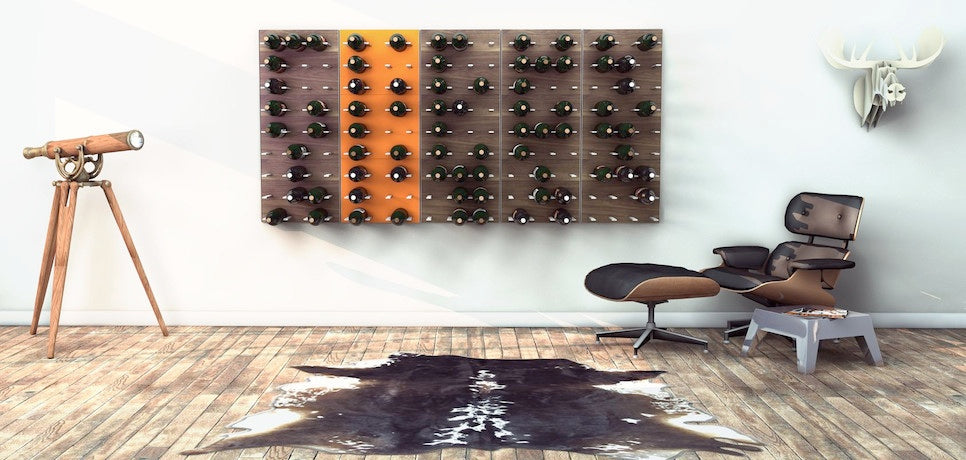 modular wine racks for the man cave
