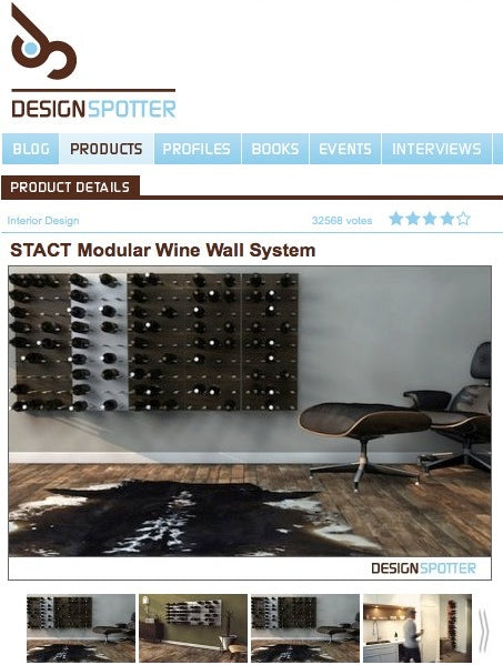 german design wine racks