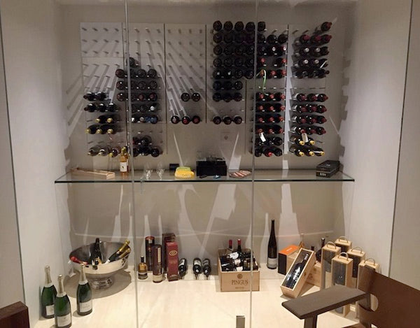 scandi home wine storage