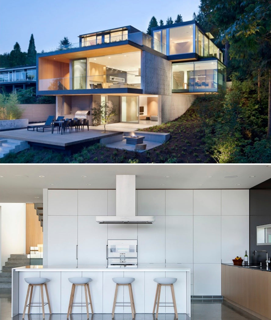Wine Storage For Modern Homes In West Vancouver