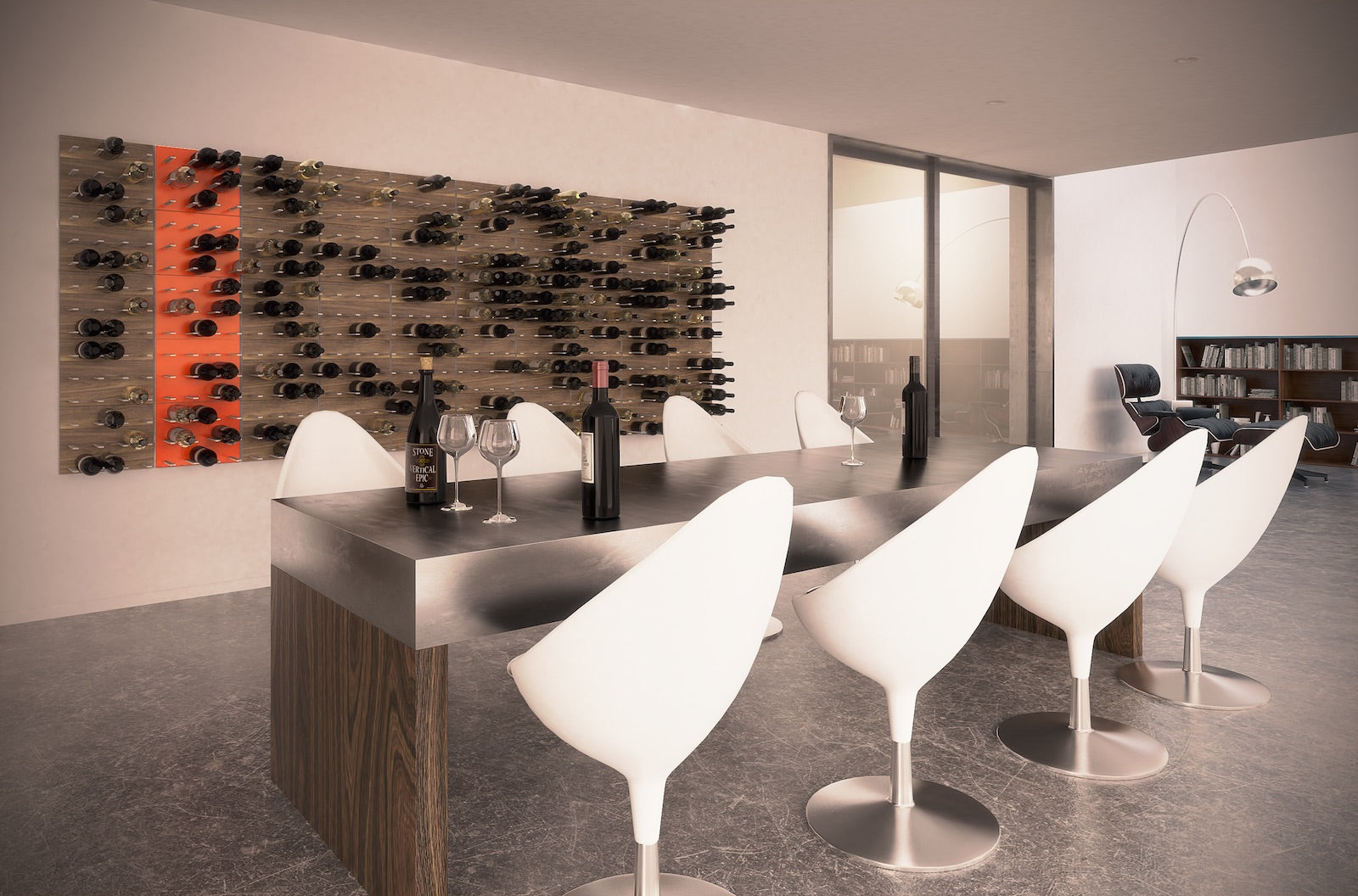 wine tasting room design